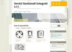 Snapshot del sito sgisrl.net