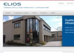 Elios SPA - Sito vetrina aziendale