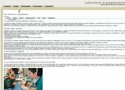 Snapshot del sito mariatomarchio.it/progped