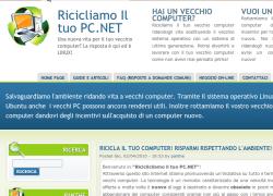http://www.ricicliamoiltuopc.net