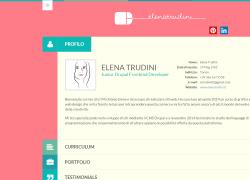 Elena Trudini - Junior Drupal Frontend Developer