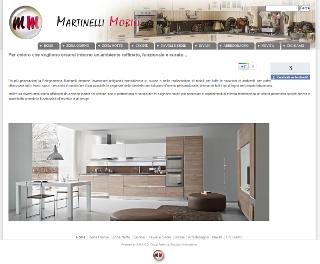 Nuovo sito per martinelli mobili for Martinelli mobili